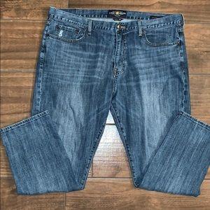 Men's Lucky Jeans.